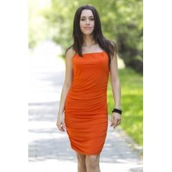 Sukienka Atena pomarańczowa